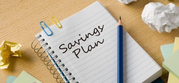 Spaarplan maken